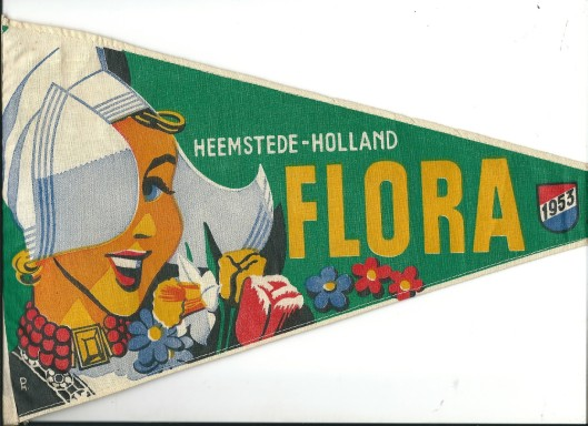 Vaantje van Flora Heemstede 1953