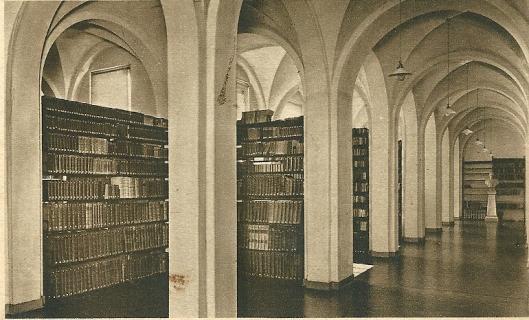 De priesterbibliotheek van seminarie hageveld