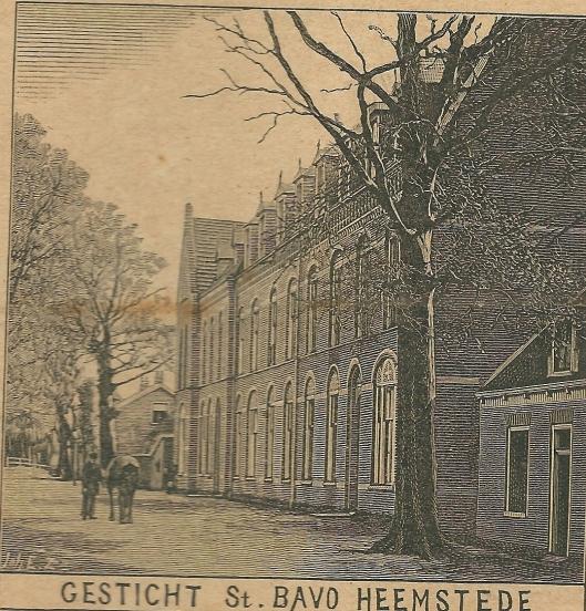Gesticht St. Bavo Heemstede. Zondagsblad, 11 maart 1907