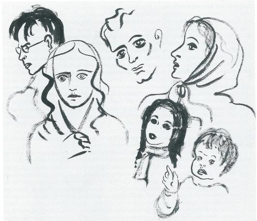 Portretten onder wie van Godfried Bomans