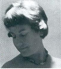 Jeugdfoto van Miriam Gude (geboren in 1925)