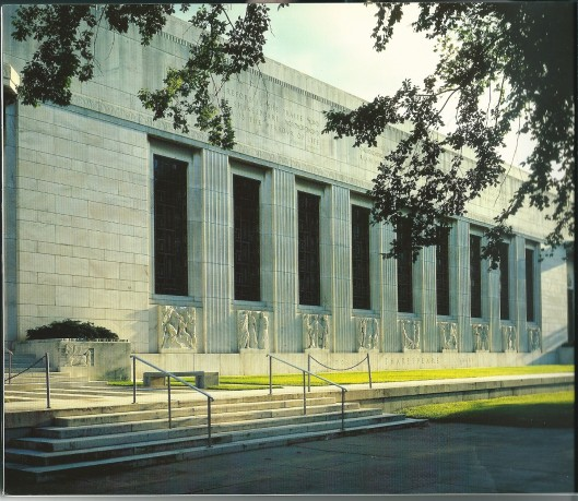 Voorgevel Folger Library in Washington