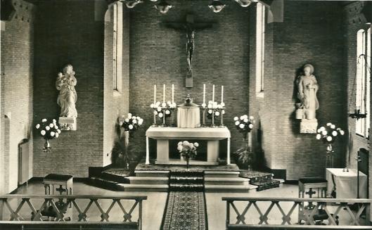 Priesterkoor kapel der Zusters Augustinessen, Heemstede