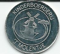 Gedenkmunt 't Molentje uit 1987