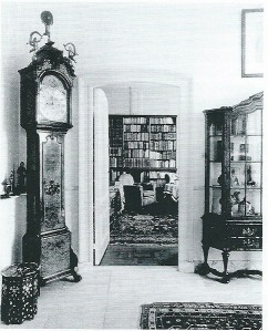 Interieuropname Ipenrode ten tijde van B.F.Enschedé