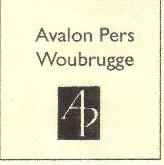Jan Vermeulen ontwierp dit drukkersmerk van de Avalon Pers
