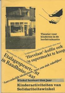Opgericht in 1978 en begonnen op het adres Binnenweg 177 is na een verhuizing naar Raadhuisstraat 29 bij het tienjarig bestaan een boekje uitgegeven, waarvan hier het vooromslag