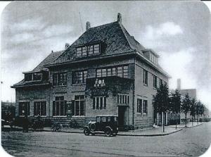 Postkantoor kort na de opening