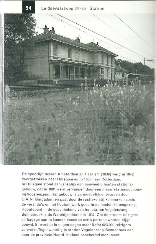Vm. station Vogelenzang-Bennebroek. Uit: Gids voor industriële monumenten in Zuid-Kennemerland. 1996