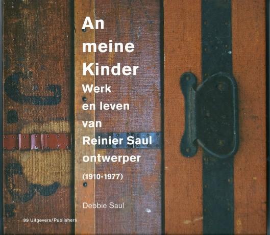 Vooromslag van boek Reinier Saul
