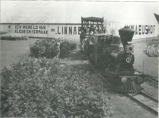 De Linnaeushof in 1964 (foto N.H.Archief)