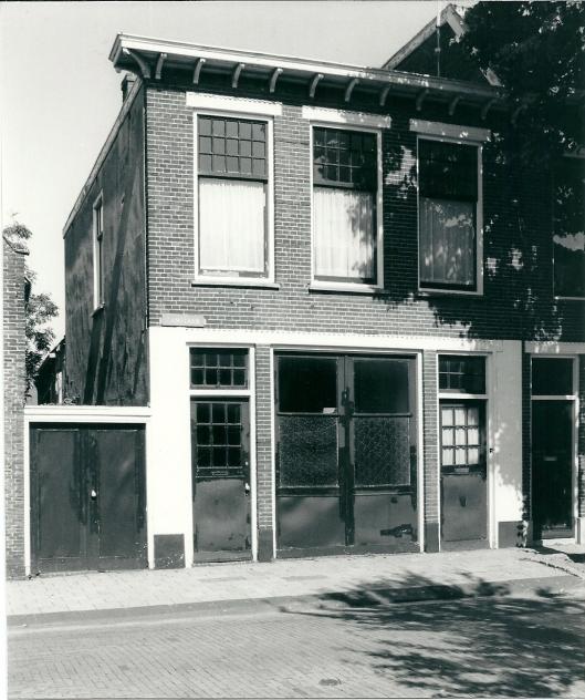 Eerste huisvesting van de Protestantse School, Camplaan 12 Heemstede