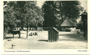 Kinderboerderij Groenendaal. Uitgave: Waterland Heemstede