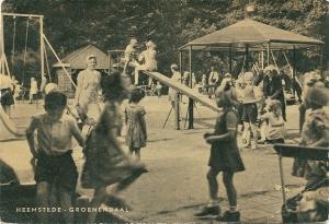 Speeltuin Groenendaal. Uitgave van Van der Horst te 's-Gravenhage