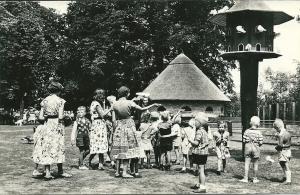 Kinderboerderij in wandelbos Groenendaal. Eigen uitgave van restaurant