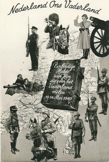 Ansichtkaart na de Bevrijding verschenen