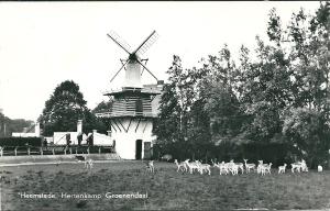 Hertenkamp Groenendaal. Kaart uitgegeven door ECLA, Heemstede