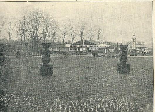 Restaurant en omgeving Flora Heemstede 1925