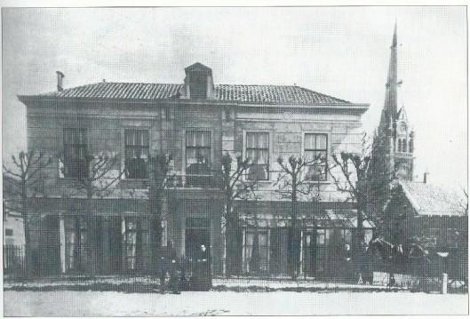 Postlust omstreeks 1900, bewoond door J.Veder