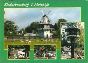 Kinderboerderij 't Molentje heeft als adres Burgemeester van Rappardlaan 1, Heemstede
