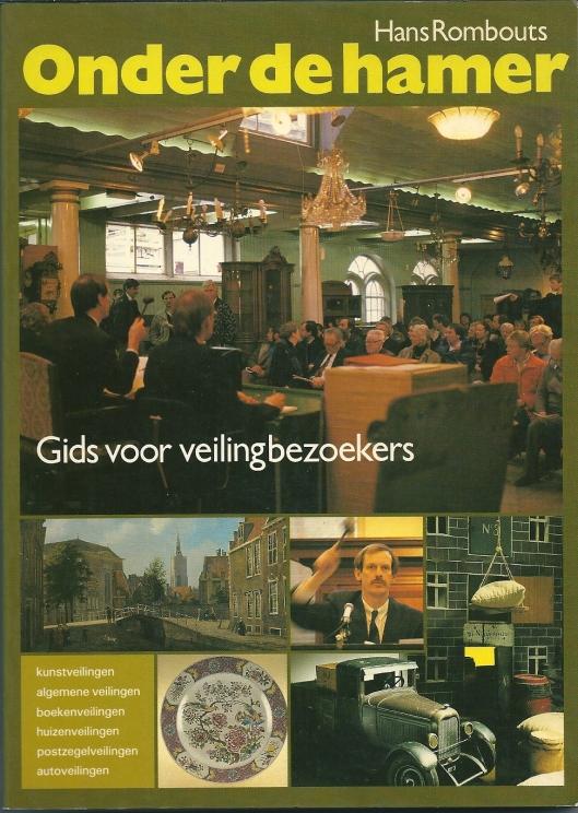 Vooromslag van 'Onder de hamer' door Hans Rombout (1988)