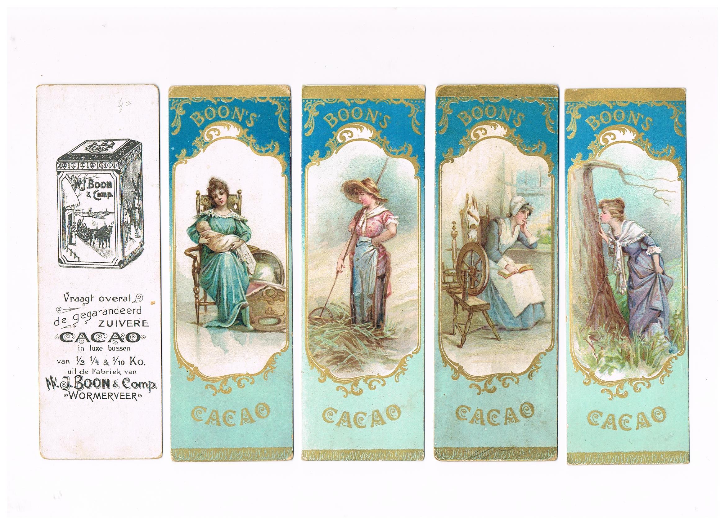 Boon: serie B (blauw), circa 1907-circa 1915