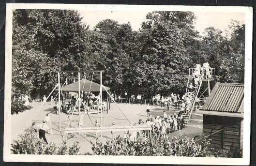 Speeltuin Groenendaal in 1958