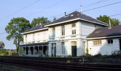 Voormalig station Vogelenzang-Bennebroek, gebouwd in 1881