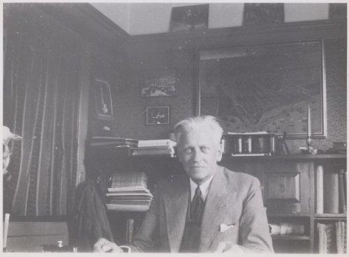 Tuinarchitect D.F.Tersteeg (1876-1942) ontwierp de Flora 1925 in Heemstede (foto archief Eemland)