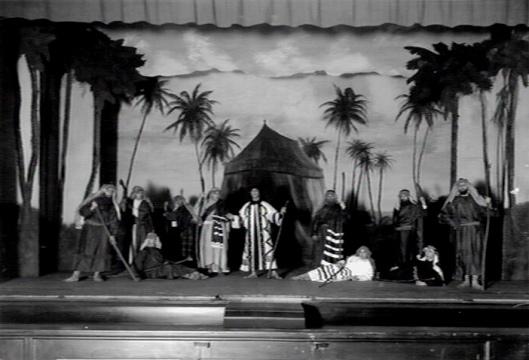 Hageveld: opvoering van 'Joseph in Dothan' door Vondel