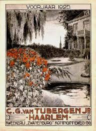 In 1925 door C.J.van Tubergen uitgegeven voorjaarscatalogus