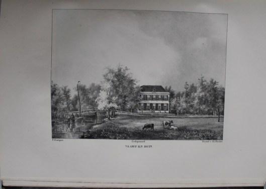 De hofstede Vaart en Duin te Overveen van de weduwe Borski, betrokken door haar zoon W.Borski te Amsterdam (P.J.Lutgers)