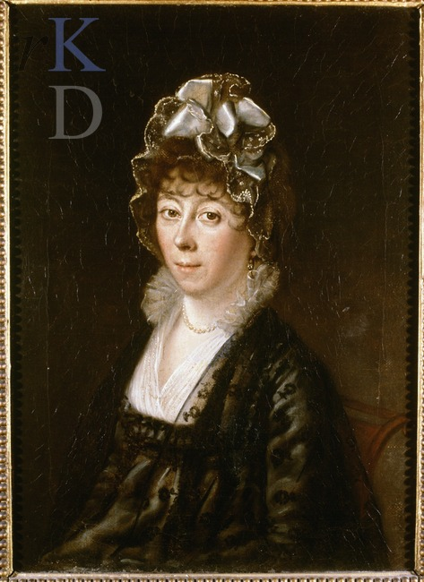 Portret van Anna Catharina Valckenier (1766-1842), echtgenote van jhr. mr.Jan van de Poll (Iconografisch Bureau)