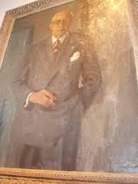 Portret burgemeester van Doorn door Otto B.de Kat