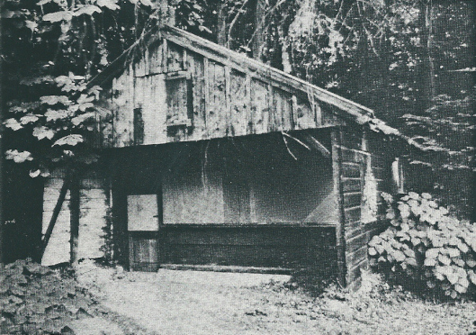 Het historische houten vinkenhuisje, Kadijk 28 Heemstede