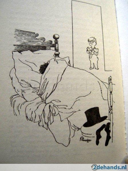Illustratie uit 'Op het vinkentouw'