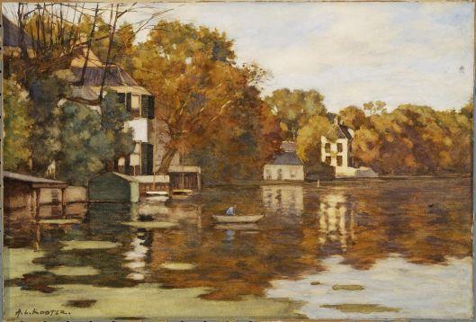 Vlietzorg aan het Spaarne door A.L.Koster (1859-1937)