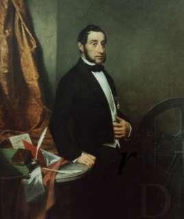 Paul van Vlissingen (1797-1876). Schilderij van Jacobus van Koningsveld uit 1855 (foto RKD-Den Haag)