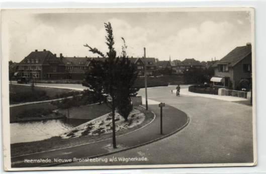Bronsteebrug nabij de Wagnerkade Heemstede