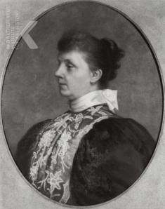 Johanna Georgina Maria Willink (1848-1927). Foto uit 1896. (RKD, iconografisch bureau)
