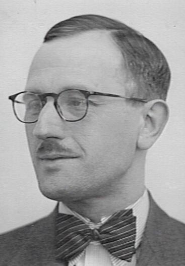Journalist en r.k.schrijver Wim Snitker (1901-1950). (foto katholiek Documentatie Centrum Nijmegen)