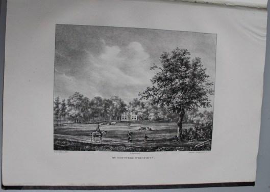 De hofstede Woestduin, aangelegd door Van Hove en omstreeks 1844 toebehorend aan Van der Burch (P.J.Lutgers)