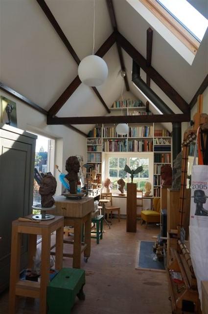 Atelier van Ellen Wolff, Frans Listztlaan Heemstede