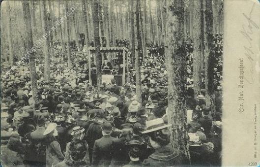 Christelijk Nationaal Zendingsfeest, 1905 in De Bilt