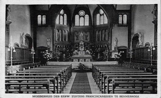 Koosterkapel Zusters Franciscanessen van Bennebroek