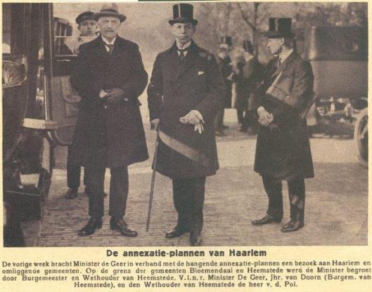 Knipsel uit 1925