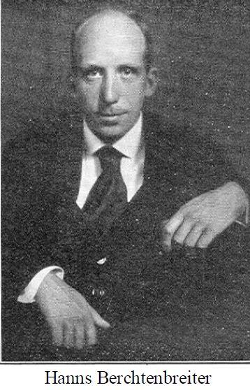 Foto van H.C.Berchtenbreiter uit de tijd dat hij in Nederland verbleef