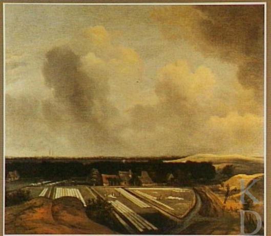 Jan van Kessel (1641-1680): Duinlandschap met bleekvelden omgeving haarlem (Poesjkin Museum Moskou) (RKD)