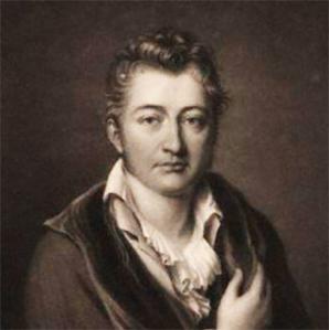Portret door Bouton van Henry Philip Hope, derde zoon van John Hope en eigenaar van Bosbeek van 1834-1839