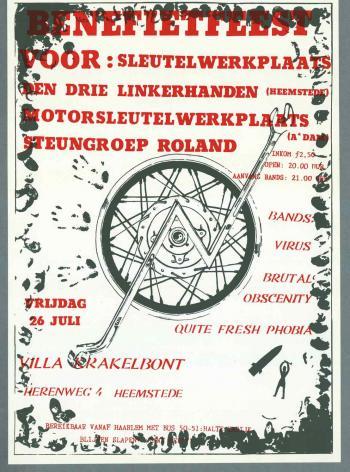 Affiche van villa Kakelbont/Eikenrode uit 1992 (collectie I.I.S.H.)